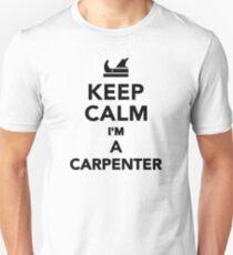 Keep calm I'm a Carpenter Slim Fit T-Shirt