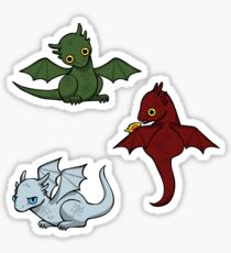 Game of Thrones Dragons Ice Sticker