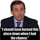 Michael Scott The Office Tv Show by knowyourrights