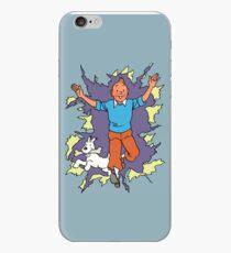 Tintin Celebration iPhone Case