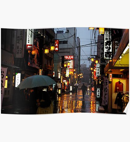 rain and light Poster