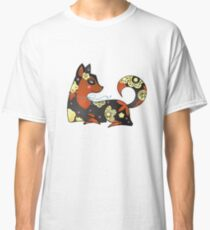 Black & orange dog Classic T-Shirt