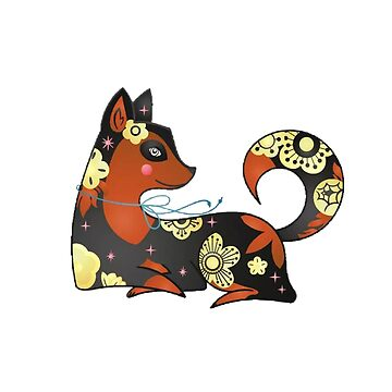 Black & orange dog by twin2017