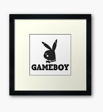 Game-Boy Framed Print