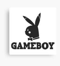 Game-Boy Canvas Print