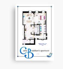 Carrie Bradshaws apartment as a Poster (Movie version) Metal Print