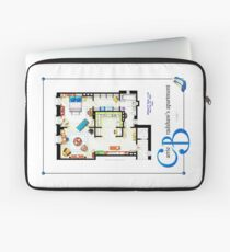 Carrie Bradshaws apartment as a Poster (TV version) Laptop Sleeve