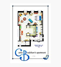 Carrie Bradshaws apartment as a Poster (TV version) Photographic Print