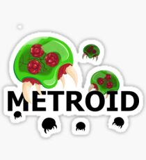Attack of the Metroids! Sticker