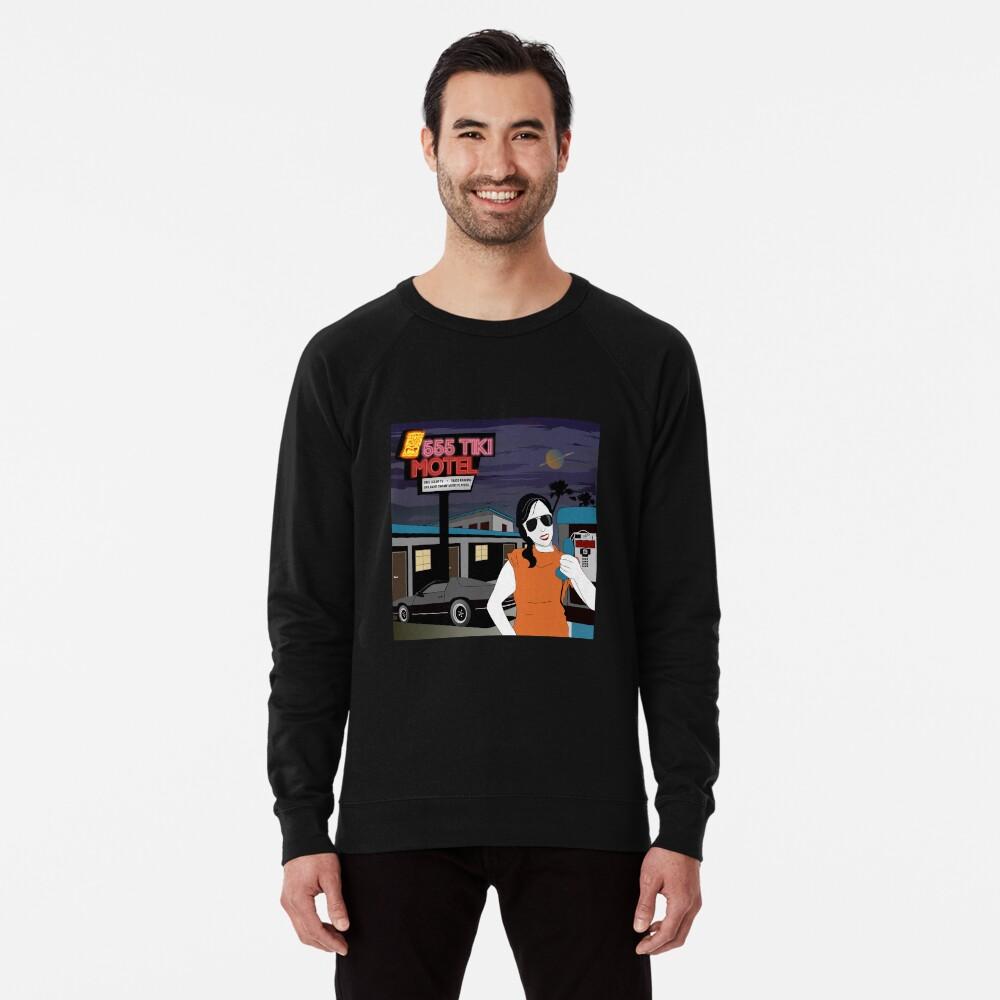 Swamp Music Players, 555 Tiki Motel payphones and Los Angeles motels, the terminator Lightweight Sweatshirt