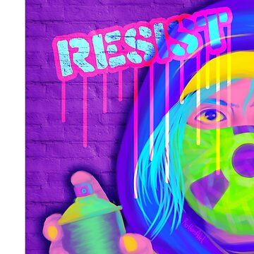 Neon Resistance by RottenAdelArt