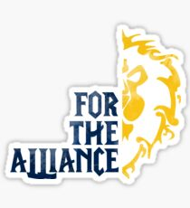 For The Alliance! Sticker