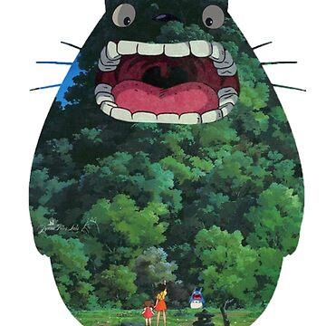 Totoro by ibrahimGhd