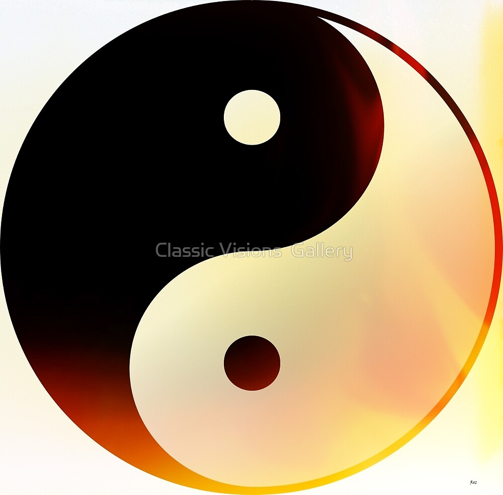 Yin and Yang Flame by Roz Abellera