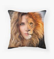 Miriam Leona Throw Pillow