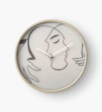 Abstract Couple Clock