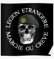 LEGION ETRANGERE - MARCHE OU CREVE Poster