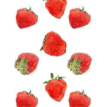 Strawberries by mrana