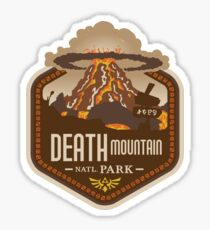 Death Mountain National Park Sticker