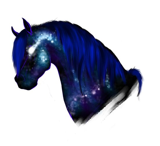 Galaxy Horse Photographic Prints By Morgruff Redbubble