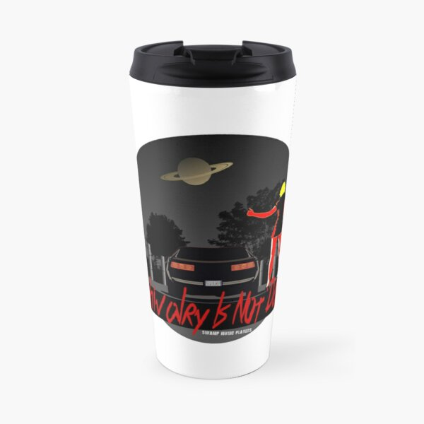 Chivalry Is Not Dead, Retro Firebird 1980s Hitchhiker , Swamp Music Players Travel Mug