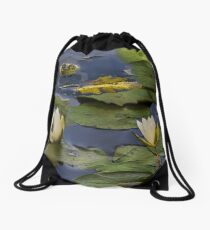 Hammond Pond - frog Drawstring Bag