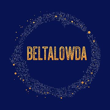 The Expanse - Beltalowda Belt Graphic by Punchzip