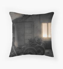 'Backroom' (hdr) Throw Pillow