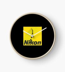 Nikon Merchandise Clock