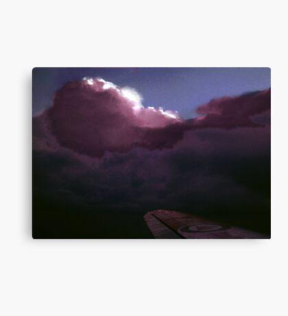 Arctic Thunderstorm Canvas Print