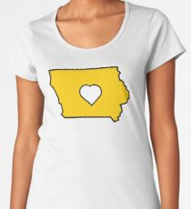Love Iowa  Women's Premium T-Shirt