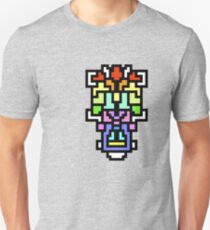 crazy colorful shapes Unisex T-Shirt