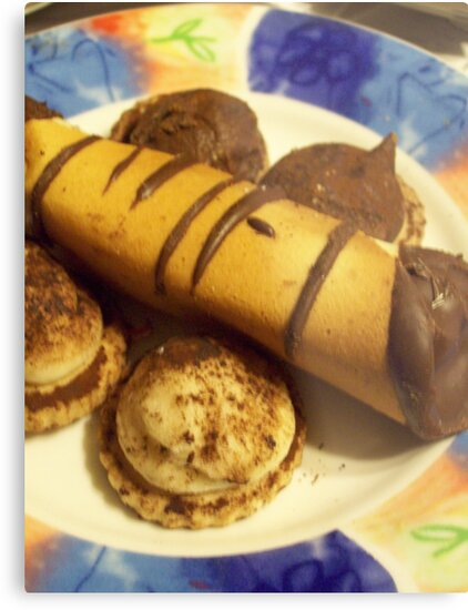 chocolate cigars and shortbread cookies by Michelle BarlondSmith