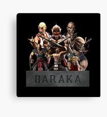 Mortal Kombat - Baraka Canvas Print