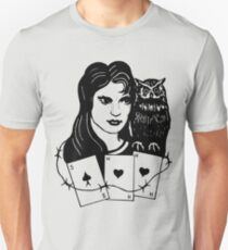 Woman with Owl T-Shirt