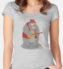 Big Al, The Country Bear Women's Fitted Scoop T-Shirt