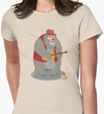 Big Al, The Country Bear Women's Fitted T-Shirt