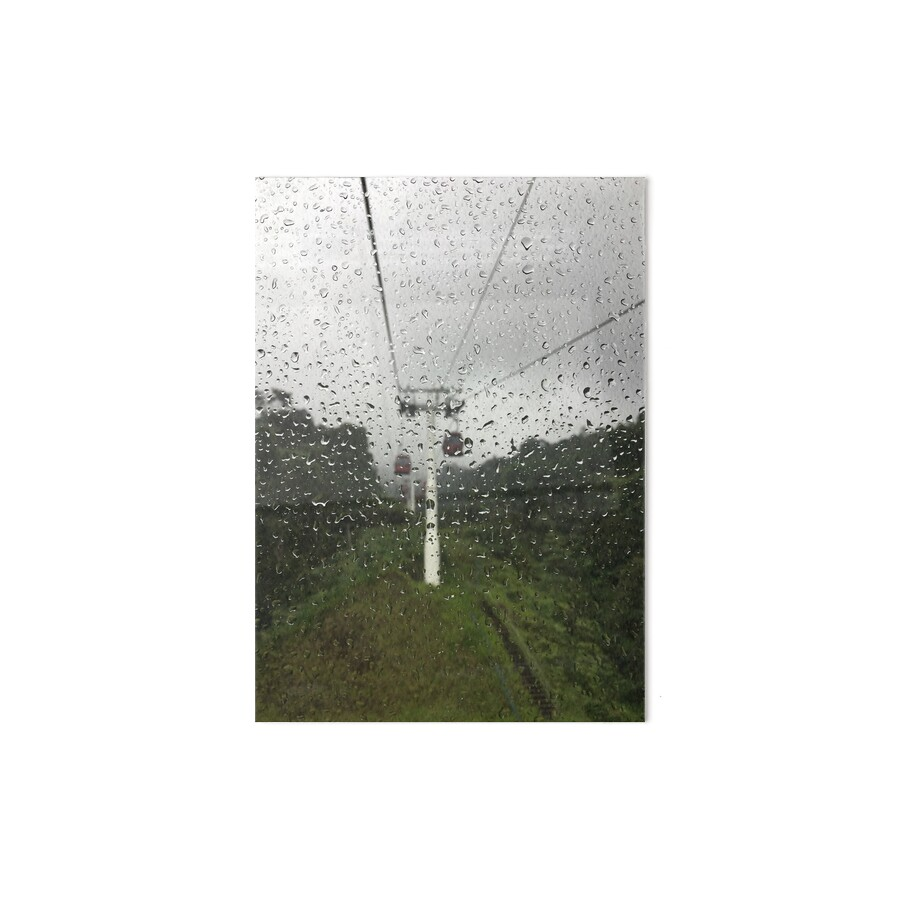 Sky Walk Boards : Quot raindrops on the window during a sky walk cable ride