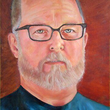 Self Portrait in Oil by troy87