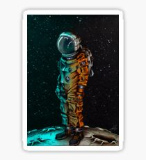 The cosmonaut Sticker