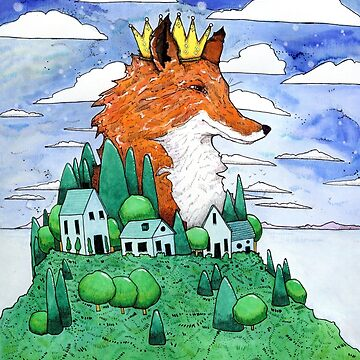 The Fox King by sciofill