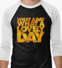 What a lovely day Men's Baseball ¾ T-Shirt
