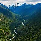 Whistler, British Columbia Mountains by Jennifer Stuber