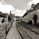 West Street Corfe Castle Dorset by Yampimon