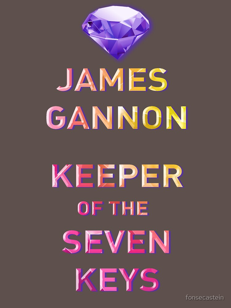 Keeper of the Seven Keys - James Gannon Tshirt by fonsecastein