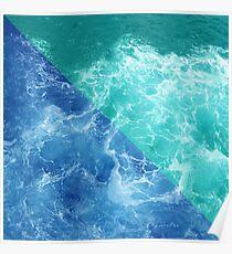 Waves Design Poster