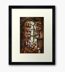 Various Potions  Framed Print