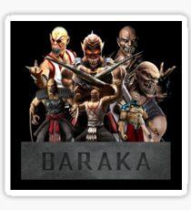 Mortal Kombat - Baraka Sticker