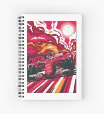 F1 Ferrari Kimi Raikkonen #7 Spiral Notebook