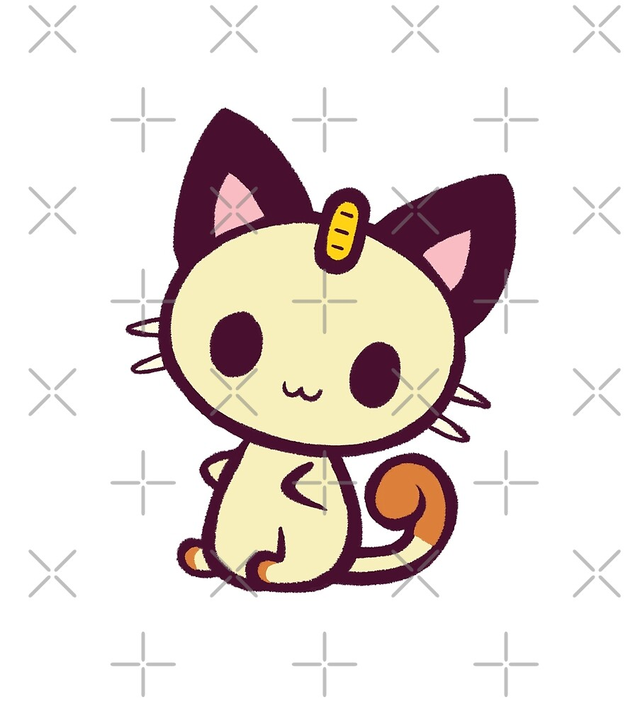 Lucky Waving Cat Kawaii Meowth\